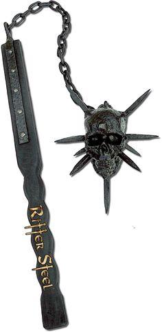 http://knightsedge.com/Medieval-skull-flail