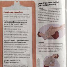 Nosso fisioterapeuta Leonardo Machado foi destaque em 4 páginas da revista Viva Saúde de novembro com dicas para quem trabalha muito tempo sentado. #exclusivacomunicacao #assessoriadeimprensa #leonardomachado
