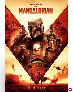 The Mandalorian poster by Claire Curtis : StarWars Mandalorian Ships, Mandalorian Poster, Star Wars Poster, Star Wars Art, Star Trek, Purple Games, Video Game Posters, Star Wars Pictures, Classic Video Games