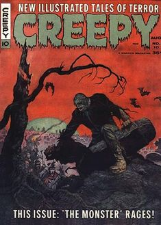 Cover for Creepy (1964 series) #10