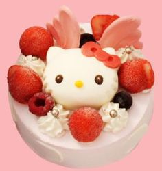 Hello Kitty Ice Cake by baby Mon Cher