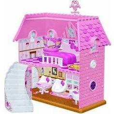 Pink house of hello kitty Kitty