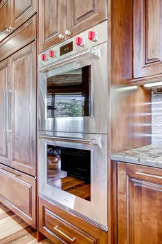Fridge and double oven Pinnacle Mountain Homes 42 Luisa Drive