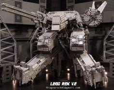 Confira o Rex de Metal Gear feito de LEGO [galeria]