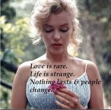 Image result for marilyn monroe sad quotes