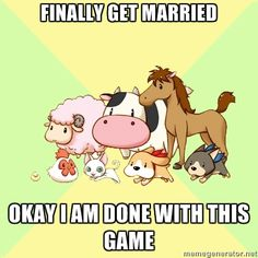 CANT WAIT UNTIL THIS SEMESTER IS OVER SO THAT HARVEST MOON CAN BECOME MY LIFE AGAIN .. Oh my word