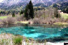 Zelenci, Slovenië