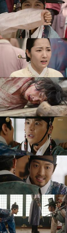 [Spoiler] Added episode 16 captures for the #kdrama 'Queen for 7 Days'