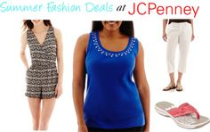 Summer Fashion Deals at JCPenney and Express