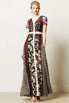357a1f7df9 New Anthropologie Sula Maxi Dress Sz We love the mixed