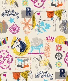 print & pattern-- they have such fun fabrics that appeal to my Scandinavian side!