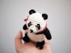 パンダ:あみぐるみ|その他素材|sawagurumi|ハンドメイド通販・販売のCreema