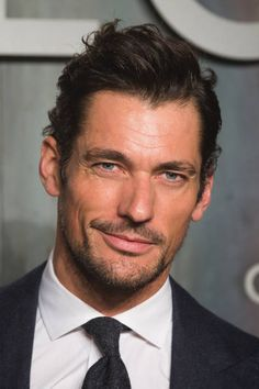 David Gandy attends the Lost In Space event to celebrate the 60th anniversary of the OMEGA Speedmaster which has been worn by every piloted NASA...