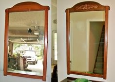 Decor, Foyer Mirror, Furniture, Oversized Mirror, Foyer, Home Decor, Goodwill Store, Mirror