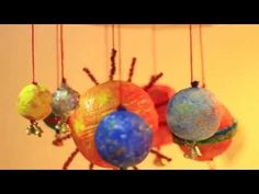 How to make a Solar System Mobile Model - Artsy Craftsy Mom