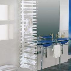 Zehnder Handdoekradiator Yucca asymmetrisch 1736x478 Type 1 - Te ... Radiators, Sink, Bathtub, Cabinet, Bathroom, Storage, Furniture, Home Decor, Sink Tops