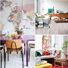 Llena los espacios de tu hogar con color.. ¿Que tal estas ideas? ;) #revista #revistainkomoda #color #decoracion
