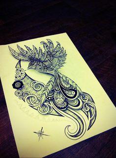 Bird by FingerPrint1404 Breathtaking for a back