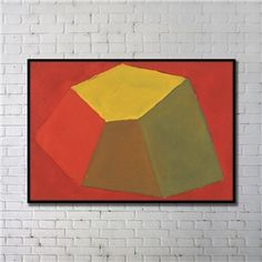 Leinwandbild Abstrakt Farbig Digitaldruck mit Schwarze Rahme-A