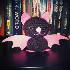 Amigurumi murciélago