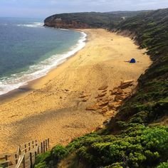 Bells Beach VIC Australia home of the Rip Curl Pro surfing contest...be ready for next Easter! @lancettime @steve_la_rue #ripcurlpro #bellsbeach #travel #thevigitantwanderess by the_vigitant_wanderess http://ift.tt/1KnoFsa