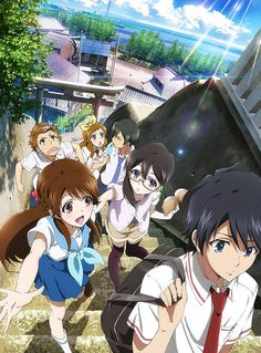 Glasslip #anime -romance/slice of life/supernatural