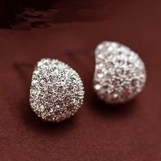 Available Now: Full Crystal Cres... Selected For You. Check It Out Here! http://onuve.com/products/full-crystal-crescent-stud-earrings?utm_campaign=social_autopilot&utm_source=pin&utm_medium=pin