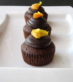 Nish Bakes: Rich Chocolate Orange Cupcakes