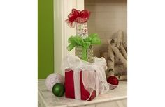 FloraCraft® Stacked Gifts Décor