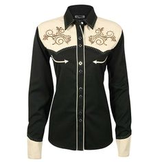 Shyanne® Women's Embellished Long Sleeve Western Shirt  Love this for fair showmanship!