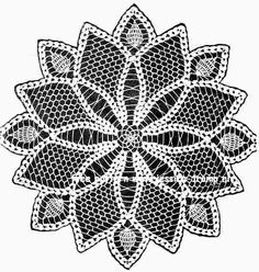 Star Doily free vintage crochet doilies patterns