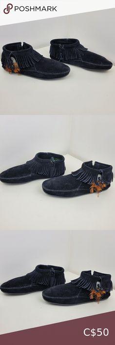 Minnetonka moccasin size 11 black Minnetonka moccasin size 11 black Pet free smoke free home Minnetonka Shoes Moccasins Fringe Moccasin Boots, Fringe Ankle Boots, Old Navy Boots, Red Boots, Black Ankle Boots, Brown Riding Boots, Leather Riding Boots, Minnetonka Boots