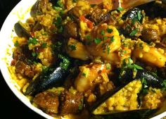 Very inviting #Paella Style #Risotto #Recipe http://bit.ly/1f5okZV   #wine? #Verdicchio di #Matelica