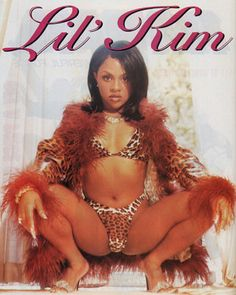 Lil kim...sorry I liked her just like this...all the plastic unnecessary....