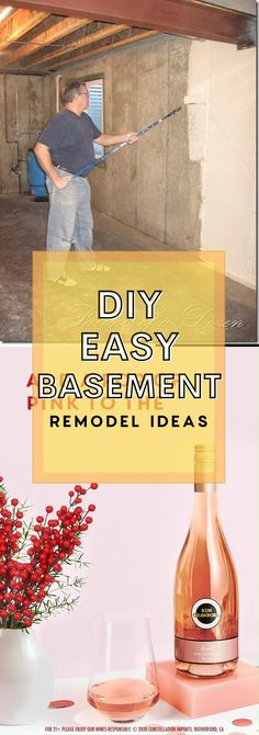 Best DIY Renovation Ideas for unfinished Basement Basement Decorating, Basement Makeover, Basement Renovations, Basement Ideas, Diy Crafts For Gifts, Diy Home Crafts, Simple Diy, Easy Diy, Rustic Stairs