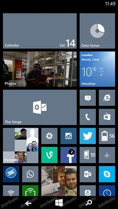 Leaked Windows Phone 8.1 screenshot reveals new on-screenbuttons #Tech #Windows