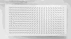 Digital clock made of analog clocks - GIF on Imgur