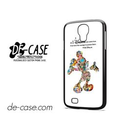 Disney Montage Disney Mickey Mouse Collage DEAL-3364 Samsung Phonecase Cover For Samsung Galaxy S4 / S4 Mini