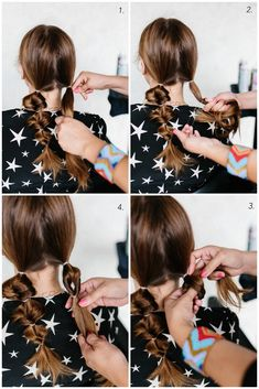 Topsy Tail Pigtails Hair Tutorial > The Effortless Chic Pigtail Hairstyles, Braided Hairstyles, Hair Hacks, Hair Tips, Effortless Chic, Your Hair, Braids, Pigtails Hair, Long Hair Styles