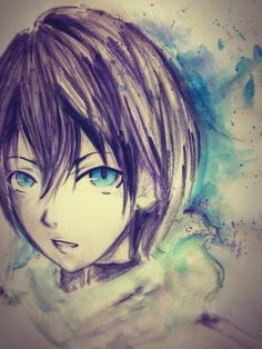 yato watercolored painting