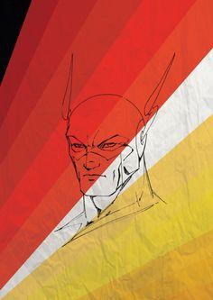 Marvel & DC Minimalist Posters