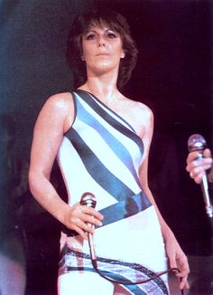 "fridalution: ""Anni-Frid Lyngstad performing with ABBA, c. 1979. Colour-corrected. """