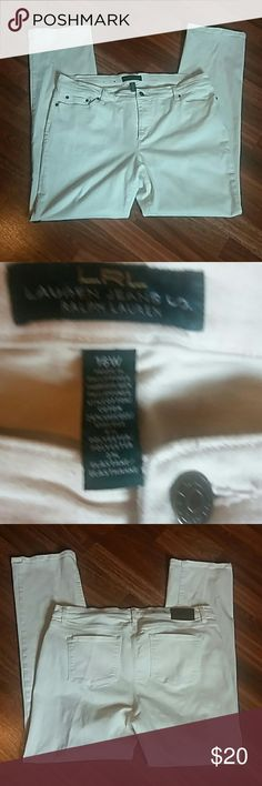 """Lauren Ralph Lauren Jeans Co. Lauren Ralph Lauren Jeans Co. Inseam 32"""" Lauren Ralph Lauren Jeans Straight Leg"""