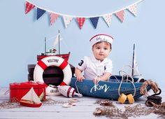 Nautical themed birthday, nautical