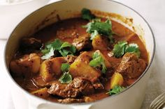 This is a super spicy Indian curry dish. You may substitute, beef, chicken or pork if desired. Blend first 12 ingredients in a food processor until a paste forms. Add the paste to a  large saute pan and cook, stirring occasionally, about 3 minutes. Add lamb and potatoes and saute for another 5 minutes. Add […]