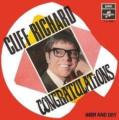 High and dry.  Cliff Richard.   2. plads ved det lokale Grand Prix i UK 1968.