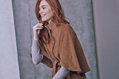 Add a camel belted coat to your outerwear collection. You won't regret it.