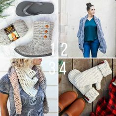The most popular free crochet patterns from the crochet blog, MakeAndDoCrew.com (Designer: Jess Coppom)
