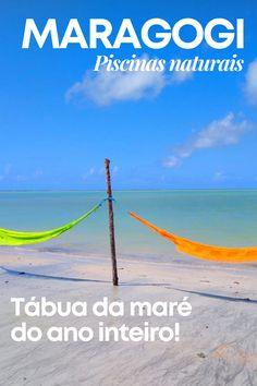 Tábua da maré de Maragogi e das demais praias de Alagoas para o ano inteiro! Consulte para saber o melhor dia para curtir as piscinas naturais! #maragogi #alagoas Wind Turbine, Blog, Travel Themes, Amazing Places To Visit, Destinations, Places To Visit, Blogging