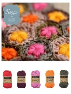 Like a market of seeds Crochet Motif, Crochet Yarn, Crochet Patterns, Yarn Color Combinations, Colour Schemes, Yarn Inspiration, Colour Pallette, Color Swatches, Yarn Colors